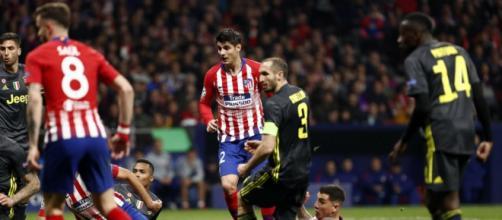 Fase concitata di Atletico Madrid-Juventus, i bianconeri ripartiranno dallo 0-2 incassato al Wanda Metropolitano