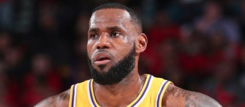 King James recently spoke about what's ahead for the Lakers' remaining season. [Image via NBA on ESPN/YouTube]