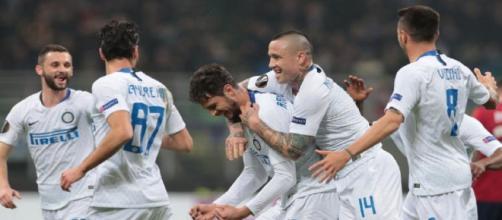 L'Inter batte il Rapid Vienna e si qualifica agli ottavi