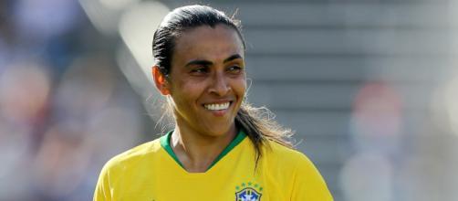 Marta foi eleita a melhor jogadora do mundo pela sexta vez em 2018. (Divulgação/Fifa)