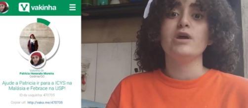 Patrícia Honorato mostra ideia inovadora. (Foto/Reprodução/Youtube)