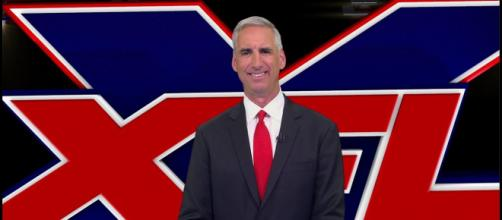 XFL Commissioner Oliver Luck recently talked about giving teams names and drafting players for the league. [Image via XFL/YouTube]