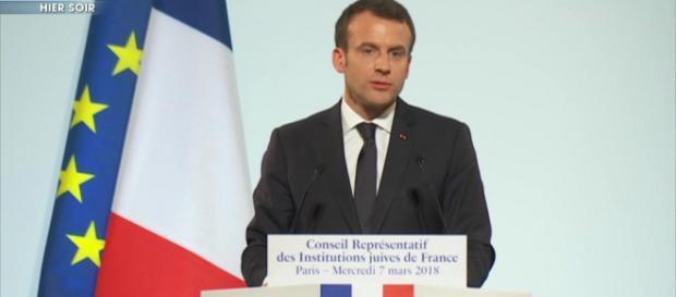 Dîner du CRIF : Emmanuel Macron s'engage dans la lutte contre l'antisémitisme
