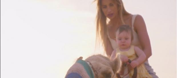 Ferne experiences some new firsts with baby Sunday in latest episode (Image credit: Ferne McCann: First Time Mum/ITVhub)