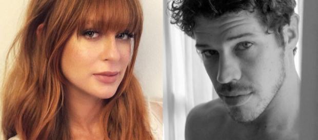 Marina e José Loreto discutem nos bastidores. (Reprodução/Instagram)