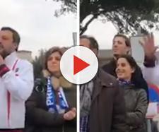 Salvini insultato in Sardegna, risponde a tono