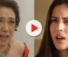 Valentina e Laura em O Sétimo Guardião (Reprodução TV Globo)
