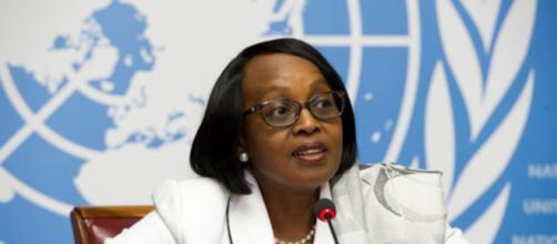 Le Dr Matshidiso Moeti directeur régionale OMS Afrique (c) Google
