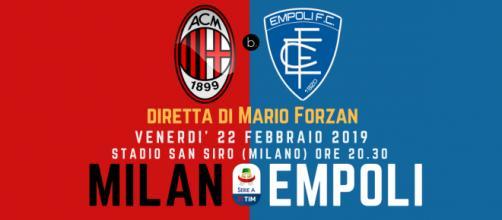 Serie A 25^ giornata, Stadio San Siro, Milan - Empoli