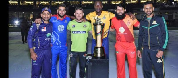 Pakistan Super League 2019 T20 : (Image via PCB/Twitter)