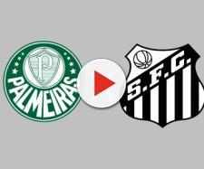 Palmeiras x Santos ao vivo (Arte: Diogo Marcondes)