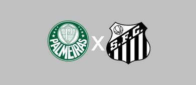 Palmeiras x Santos: PFC faz a transmissão do jogo ao vivo neste sábado (23), às 19h