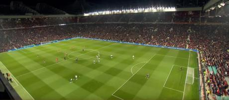 Manchester United vs Liverpool. Old Trafford.