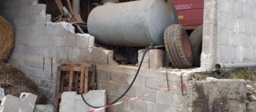 Frosinone, crolla muro a causa del forte vento: due morti e due feriti.