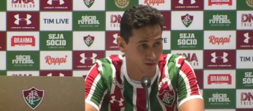 Ganso estreou pelo Flu na última sexta (Foto: Maximilian Pimenta/ Fluminense F.C.)