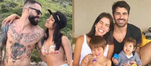 Gleici e Wagner e Rodrigão e Adriana são casais formados no BBB (Reprodução Instagram)