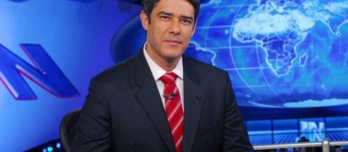 Jornal Nacional comete erro e William Bonner pede desculpas aos telespectadores (Foto: Reprodução)