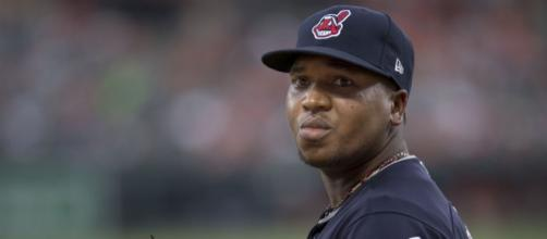 Jose Ramirez has two straight third-place finishes in American League MVP voting. [Image Source: Flickr   Keith Allison]