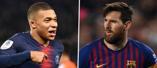 Mbappé et Messi se rendent coups pour coups