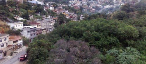 Rua Camarista Meyer, onde ficava localizada a Fazenda São Francisco de Paula. (via Facebook - Renato Breves Giglio)