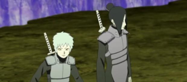 Boruto - Naruto Next Generations Chap 32 spoiler: Kara team warrior's deadly skill appears. Image credit: Anime Master/YouTube screenshot.