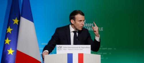"""Emmanuel Macron appelle à """"réinventer"""" la PAC au salon de l ... - parismatch.com"""