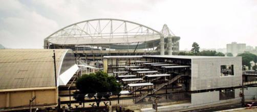 Estação Olímpica do Engenho de Dentro em 2016. (Foto: Facebook)