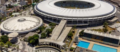 Estádio do Maracanã no Rio de Janeiro. Imagem: PMERJ