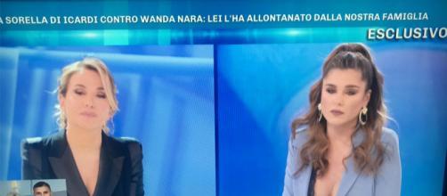 Ivana Icardi a Domenica Live contro Wanda Nara