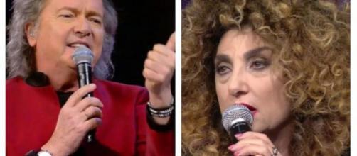 Lite furibonda a 'Ora o mai più', Red Canzian contro Marcella Bella.