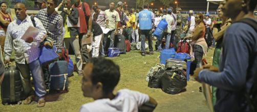 Soldados venezuelanos teriam jogado gás lacrimogênio em direção ao Brasil - (Foto: Antônio Cruz/Agência Brasil)