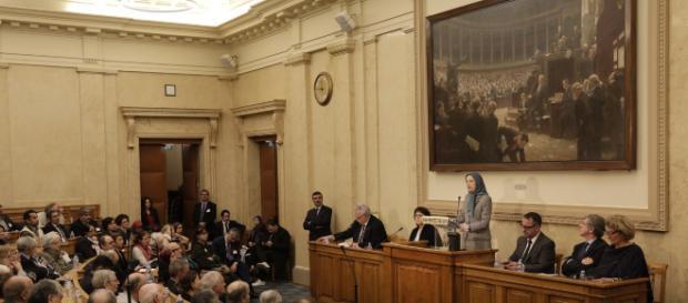 Devant les députés, Maryam Radjavi appelle la France à soutenir le combat des Iraniens pour le changement de régime