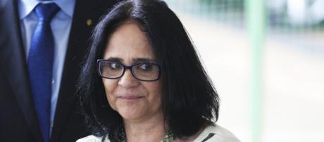 Ministra Damares Alves lamenta situação caótica da Venezuela em reunião da ONU - (Foto: Valter Campanato/Agência Brasil)