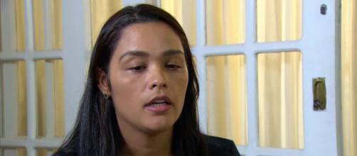 A esteticista Dinalva conta sobre a morte do filho Pedro (Reprodução/Rede Globo)