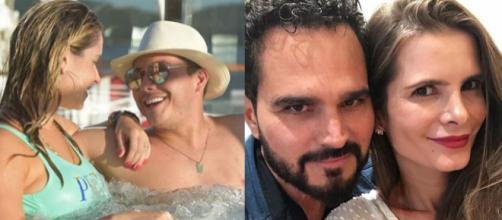 Luciano, Flavia, Safadão e Thyane, casais de ídolos e fãs (Reprodução Instagram)