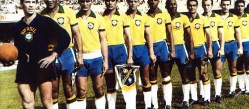Palmeiras teve jogadores convocados nos cinco títulos mundiais da Seleção Brasileira. (Arquivo Blasting News)
