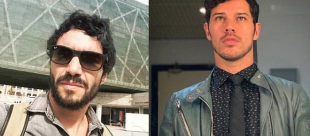 Caio Blat e José Loreto ironizaram polêmica que rondou a Rede Globo nas últimas semanas. (Foto: Reprodução/Instagram)