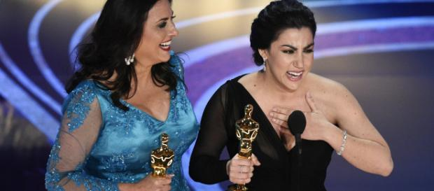 India shines at Oscars, 'Period. End of Sentence' wins Documentary Oscar- Photo -Image credit-( screen shot - ABC/youtube.com)