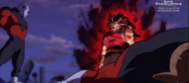 Jiren gegen Kanba - Dragon Ball Heroes Episode 8