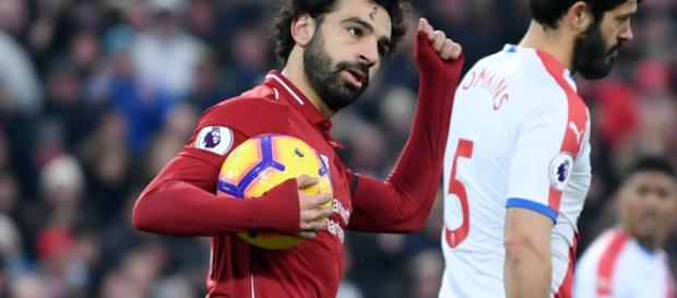 Mohamed Salah diving: Liverpool forward's simulation earns ... - goal.com