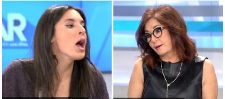 Irene Montero y Ana Rosa Quintana en imagen
