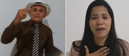 Ex-marido de Stefhany fez novas acusações em vídeo. (Foto: Reprodução Youtube)