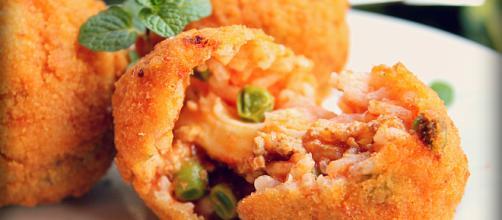 La ricetta originale degli arancini di riso.