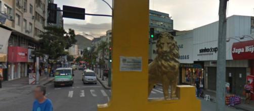 Leão do Méier (Foto: Reprodução/Google Maps)