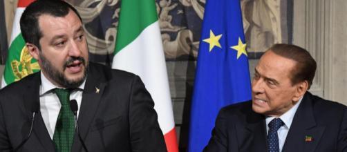 Matteo Salvini scarica definitivamente Silvio Berlusconi