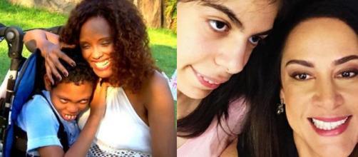 Silvia Abravanel e Luana (Reprodução/Instagram) Isabel Fillardis e Jamal (Reprodução/Instagram)