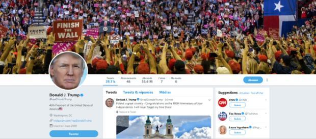 Donald Trump, l'éternelle guerre des mots sur les réseaux sociaux - lejdd.fr