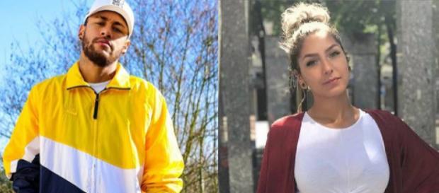 Neymar e Liza tem encontro íntimo em Paris. (Foto: Reprodução/Instagram)