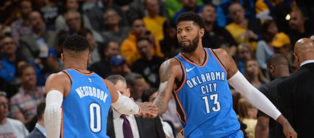 Russell Westbrook, Paul George pose a problem for Warriors - yahoo.com