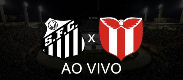 Santos x River Plate-URU ao vivo (Foto: Reprodução/ Youtube)